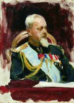 Study for Ceremonial Meeting of the State Council | Ilia Efimovich Repin | Oil Painting