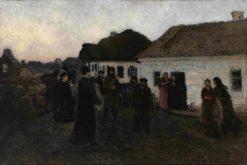Returning Home | Ilia Efimovich Repin | Oil Painting