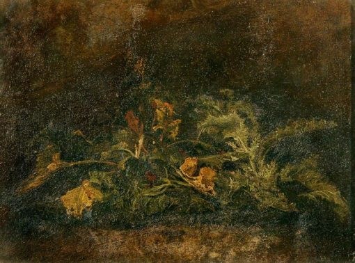 Study of Foliage | John Crome | Oil Painting