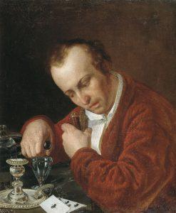 The Gambler   Vasily Pukirev   Oil Painting