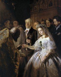 The Unequal Marriage | Vasily Pukirev | Oil Painting