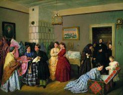 The Dowry | Vasily Pukirev | Oil Painting