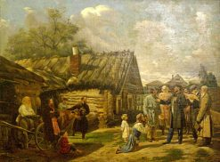 Tax Collectors | Vasily Pukirev | Oil Painting