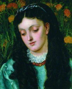La belle jaune giroflee | Emma Sandys | Oil Painting