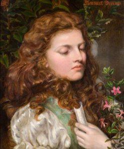 Pleasant Dreams | Emma Sandys | Oil Painting