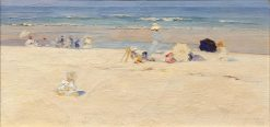 Beach Scene | Elizabeth Wentworth Roberts | Oil Painting