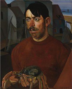Fisherman | Boris Grigoriev | Oil Painting