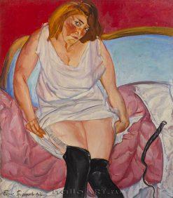 Intimite | Boris Grigoriev | Oil Painting