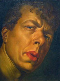 Portrait of Boris Grigoriev | Alexander Evgenievich Yakovlev | Oil Painting
