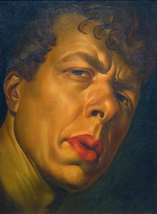 Portrait of Boris Grigoriev   Alexander Evgenievich Yakovlev   Oil Painting