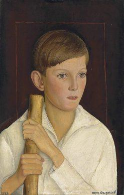 Portrait of Patrick Edwards | Boris Grigoriev | Oil Painting