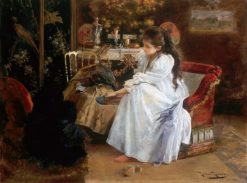De Soiree | Roman Ribera Cirera | Oil Painting