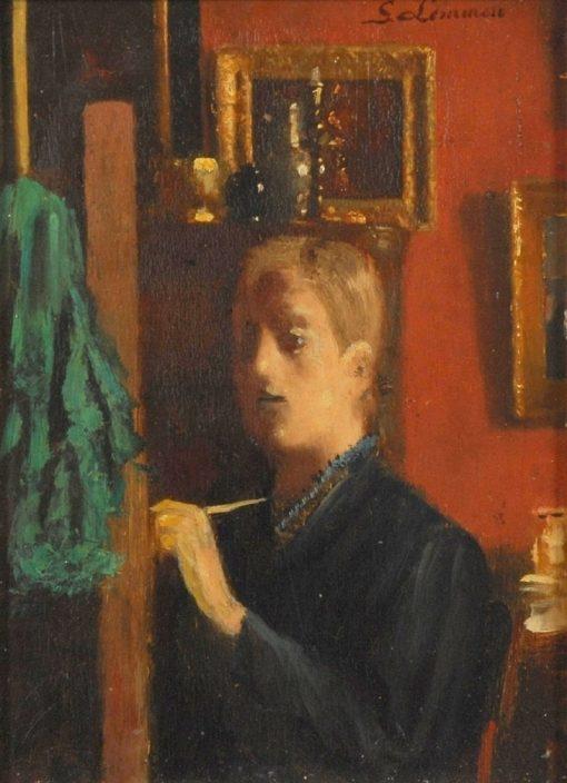 Self Portrait | Georges Lemmen | Oil Painting