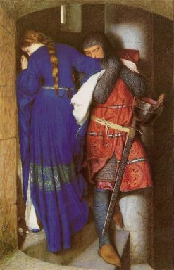 Hellelil and Hildebrand | Frederic William Burton | Oil Painting