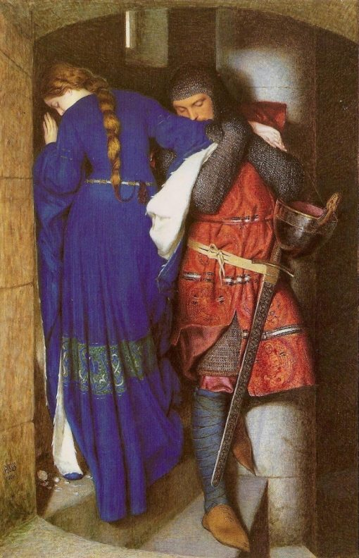 Hellelil and Hildebrand | Frederic William Burton | Oil Painting