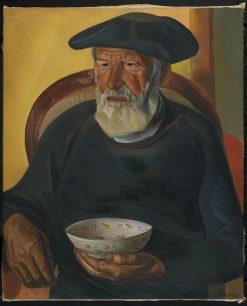 Old Trombolas | Boris Grigoriev | Oil Painting