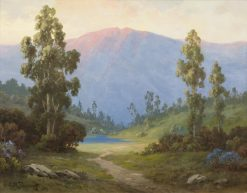 Santa Ynez Lake | Alexis Matthew Podchernikoff | Oil Painting