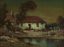 An Old House | Alexis Matthew Podchernikoff | Oil Painting