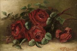 Roses | Alexis Matthew Podchernikoff | Oil Painting