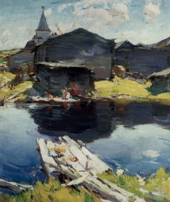 In the North | Abram Efimovich Arkhipov | Oil Painting