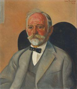 Portrait of a Gentleman | Boris Grigoriev | Oil Painting