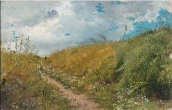 Road Through a Dell | Ilia Efimovich Repin | Oil Painting
