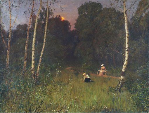 Twilight | Nikolai Nikanorovich Dubovskoy | Oil Painting