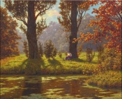 A Sunny Afternoon | Ivan Fedorovich Choultse | Oil Painting