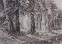 In the Park | Alexei Kondratyevich Savrasov | Oil Painting