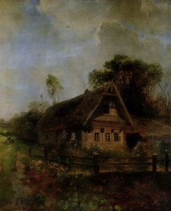 Spring in the Village | Alexei Kondratyevich Savrasov | Oil Painting
