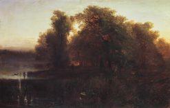 Evening Landscape | Alexei Kondratyevich Savrasov | Oil Painting