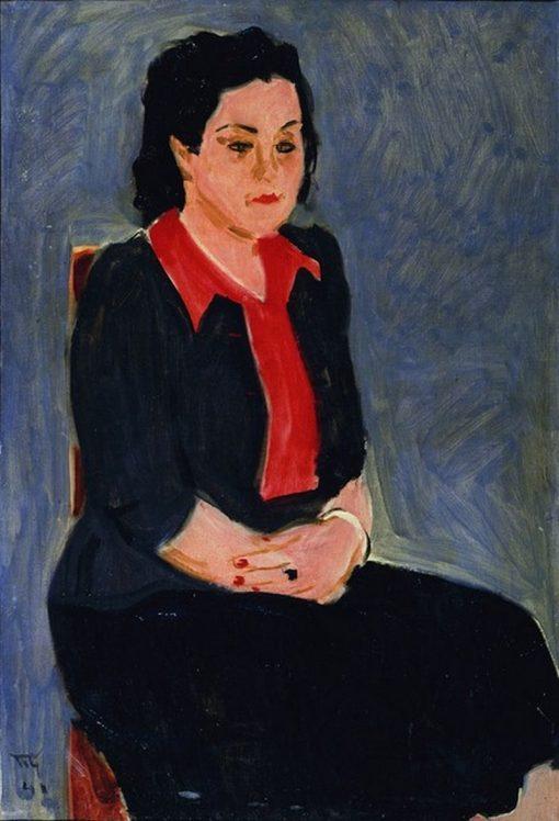 Portrait of Z. Livshits | Vladimir Grinberg | Oil Painting