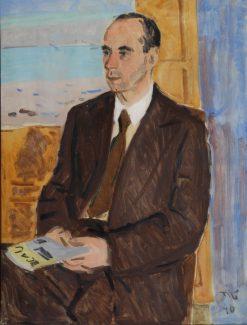 Portrait of Architect Yuritsyn | Vladimir Grinberg | Oil Painting