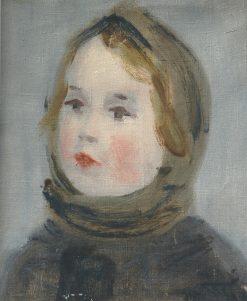 Portrait of a Child   Vladimir Grinberg   Oil Painting
