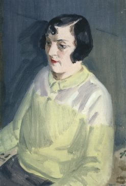 Portrait of a Woman   Vladimir Grinberg   Oil Painting