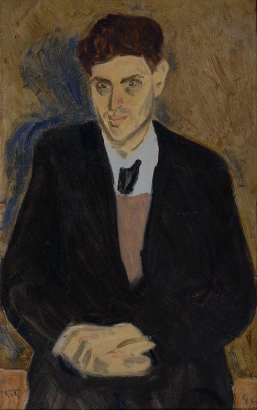 Portrait of Architect Sherishevsky   Vladimir Grinberg   Oil Painting