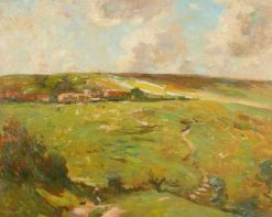 The Path to Ellerby | Frederick William Jackson | Oil Painting