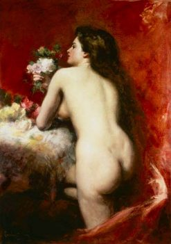 The Model | Charles Auguste Emile Carolus-Duran | Oil Painting