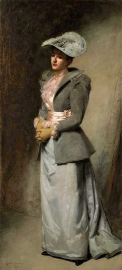 Portrait of the artists daughter