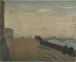 Bridge in Leningrad | Vladimir Grinberg | Oil Painting