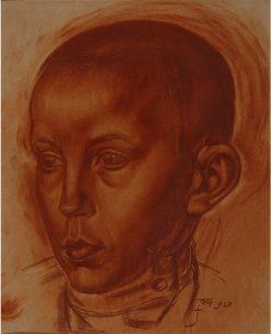 Portrait of a Boy   Vladimir Grinberg   Oil Painting