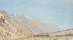 View of Beyik | Alexander Evgenievich Yakovlev | Oil Painting