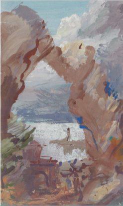 Coastal View | Alexander Evgenievich Yakovlev | Oil Painting