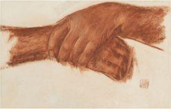 Study of Hands | Alexander Evgenievich Yakovlev | Oil Painting