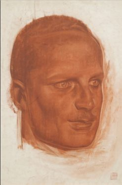 Portrait of a Man | Alexander Evgenievich Yakovlev | Oil Painting