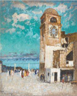 Capri   Konstantin Gorbatov   Oil Painting