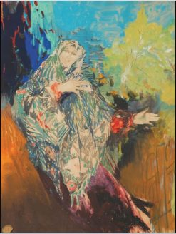 Dancing Peasant Woman | Filipp Andreevich Maliavin | Oil Painting