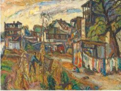 City Scene | Abraham A. Manievich | Oil Painting