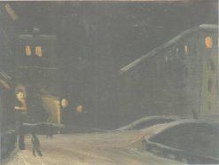 Night in Leningrad | Vladimir Grinberg | Oil Painting