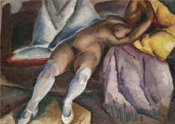 Reclining Nude | Alexei Kravchenko | Oil Painting